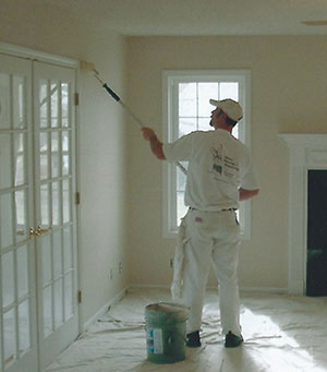 Drop cloths for interior home painting